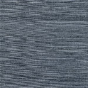 Kenneth James Canton Road Victoria Unpasted Grasscloth Wallpaper - 72-sq. ft. - Indigo