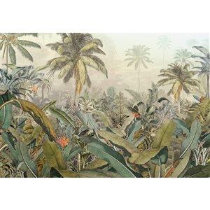 Peinture murale Amazonie Komar, non encollée, 98 po x 145 po