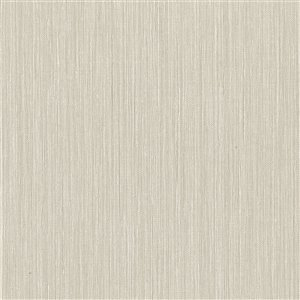 Papier peint non encollé en vinyle Derrie Texturall III par Warner Textures, 60,8 pi², beige