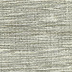 Kenneth James Canton Road Unpasted Grasscloth Wallpaper - 72-sq. ft. - Silver