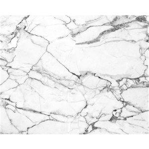Peinture murale au motif de marbre ohpopsi, non encollée, 118 po x 94 po