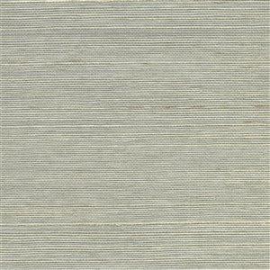 Papier peint non encollé en toile de ramie Lucena Canton Road par Kenneth James, 72 pi², gris