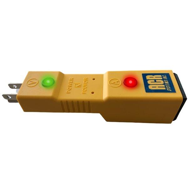 Indicateur d'alimentation Powercheck, testeur automatique de chauffe-bloc