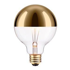 Ampoule incandescente à design Vintage Edison Oro de Globe Electric, 220 Lumens, 40W, or