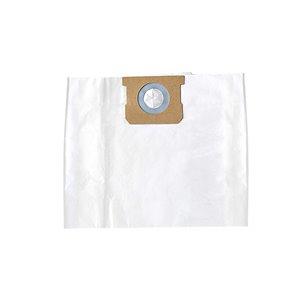 Sacs filtrants standards de rechange pour aspirateur à déchets secs/humides Filterpower, 16 à 22 gallons américains, paquet