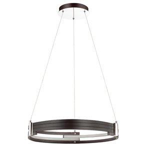 Dainolite Pono Pendant Light - 1-Light - 24-in - Matte Black