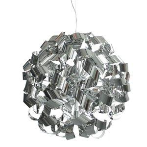 Dainolite Wayfair Pendant Light - 9-Light - Polished Chrome