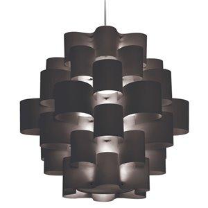 Dainolite Zulu Pendant Light - 10-Light - Black