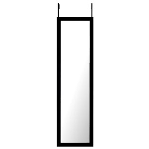 Mirrorize Canada 50-in L x 14-in W Rectangle Black Framed Door Mirror