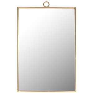 Mirrorize Canada 38-in L x 24-in W Rectangle Gold Framed Wall Mirror