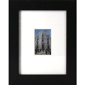 ArtMaison Canada Black Picture Frame - (Common Size: 8-in x 10-in  Actual Size 9-in x11) Photo Opening of 2.5-in. x 4.6-in