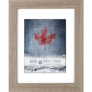 ArtMaison Canada Gray Picture Frame - (Common Size: 11-in x 14-in  Actual Size 12-in x15)