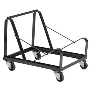 Chair Storage Dolly - Black - 332 lb Weight Capacity