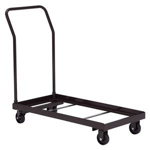 Chair Storage Dolly - Black - 1100 lb Weight Capacity