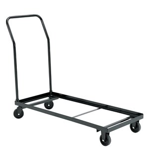 Folding Chair Dolly - Brown - 1100 lb Weight Capacity