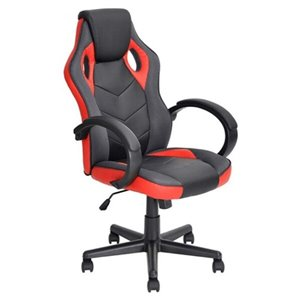 Nicer Interior Reclining Gaming Chair - Black and Red