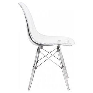Chaise pour salle à manger Eames de Nicer Interior, transparent
