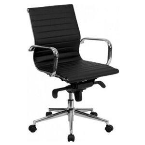 Chaise pour cadre par Nicer Interior, haut dossier, noir
