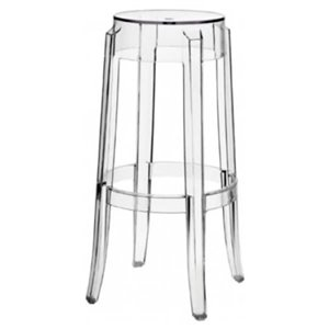 Nicer Interior Replica Philippe Starck Counter Stool  - Clear