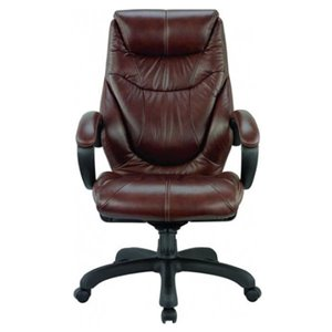 Chaise de cadre ergonomique par Nicer Interior, brun chocolat