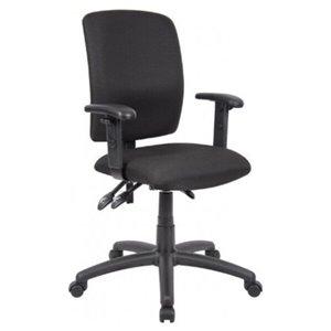 Chaise d'ordinateur multifonction ergonomique par Nicer Interior, noir