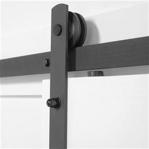 Barn Door Straight Strap Hardware Kit - 96-in