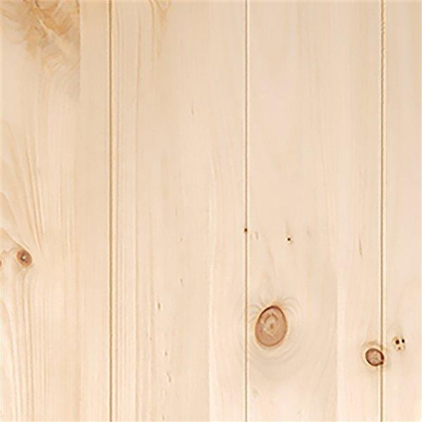 Renin K-Design Rustic Barn Door - 36-in x 84-in - Pine