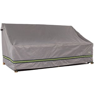 Duck Covers Soteria Rain Proof Patio Sofa Cover - Polyester - 93-in - Grey
