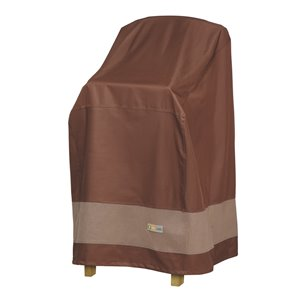 Duck Covers Ultimate Bar Chair and Stool Cover - Polyester - 30-in - Mocha Cappuccino