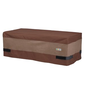 Duck Covers Ultimate Rectangular Coffee Table Cover - Polyester - 26-in - Mocha Cappuccino