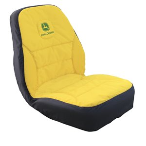 John Deere High-Back Seat Cover for Compact Utility Tractors