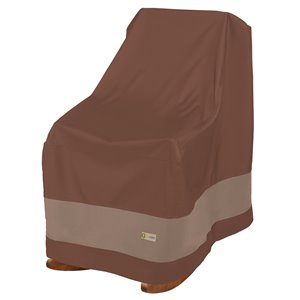 Duck Covers Ultimate Rocking Chair Cover - Polyester - 35-in - Mocha Cappuccino