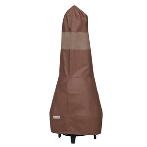 Duck Covers Ultimate Chimney Cover - Polyester - 15-in - Mocha Cappuccino