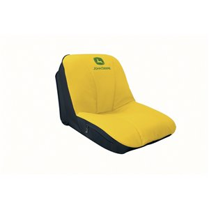 John Deere Deluxe Mid-Back Seat Cover for Lawn Tractors