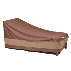 Duck Covers Ultimate Patio Chaise Lounge Cover - Polyester - 34-in x 74-in - Mocha Cappuccino