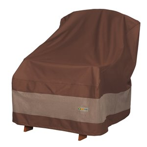 Duck Covers Ultimate Adirondack Chair Cover - Polyester - 36-in - Mocha Cappuccino