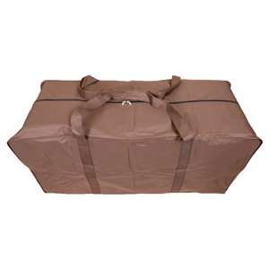 Duck Covers Ultimate Cushion Storage Bag - Polyester - 48-in - Mocha Cappuccino