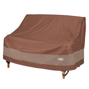 Duck Covers Ultimate Loveseat Cover - Polyester - 34-in - Mocha Cappuccino