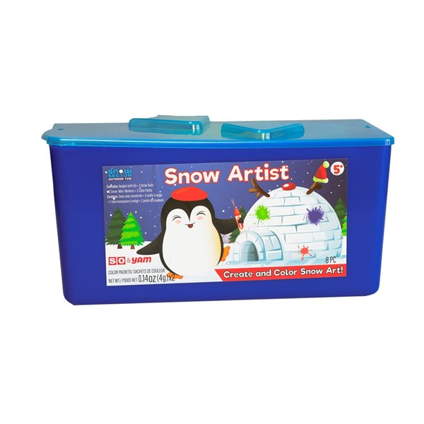 Snow Sector Snow Artist Kit Take and Go Bucket Set