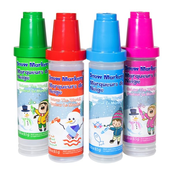Snow Sector Large Snow Markers Multipack 4 assorted Colours.