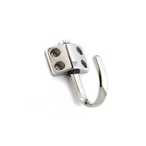 Crochet à loquet utilitaire Richelieu, 45 mm, acier inoxydable