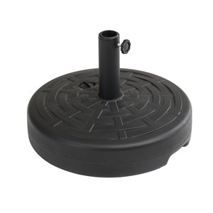 Sunjoy Noel Patio Umbrella Base - Round - Black
