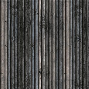 Dundee Deco Falkirk Jura II Peel and Stick 3D Wall Panel - Faux Wood - 28-in x 28-in - Charcoal, Blue and Beige