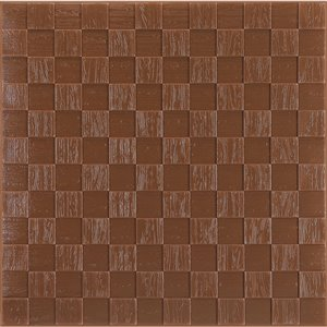 Dundee Deco Falkirk Jura II Peel and Stick 3D Wall Panel - Cubes - 28-in x 28-in - Copper Rose