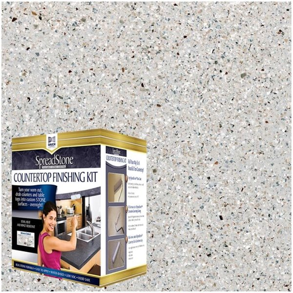 Spreadstone Mineral Select Countertop Finishing Kit - 40-sq. ft. - Onyx Fog