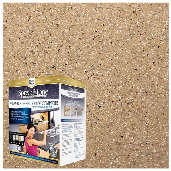 Spreadstone Mineral Select Countertop Finishing Kit - 40-sq. ft. - Canyon Gold