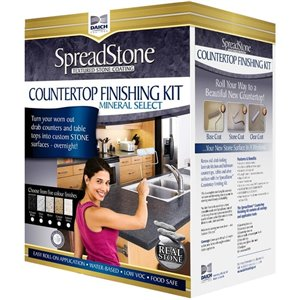 Spreadstone Mineral Select Countertop Finishing Kit - 40-sq. ft. - Volcanic Black
