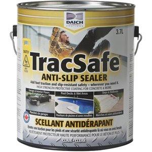 Scellant antidérapant pour béton Tracsafe de Daich Coatings, 3.7 L - Transparent