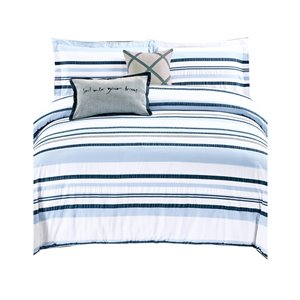 North Home Hilton King Duvet Cover Set - 5-Piece