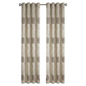 North Home Rolea Single Curtain Panel - Grommet - 96-in - Beige
